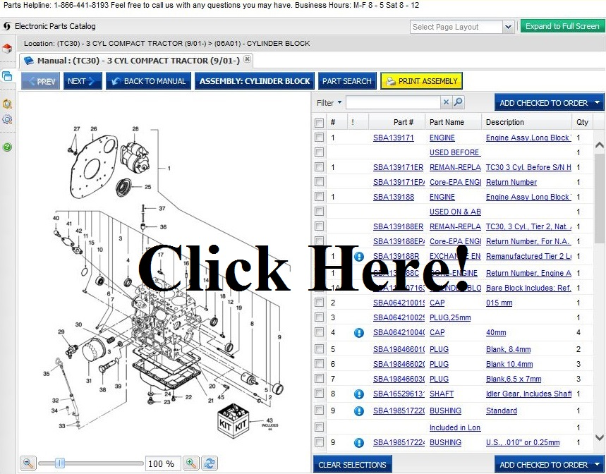 newhollandag_store ford 6600 tractor parts online parts store helpline 1 866 441 8193 wiring harness kits for 6600 ford tractor at bayanpartner.co